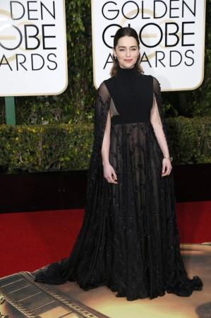 Emilia Clarke at the Red Carpet