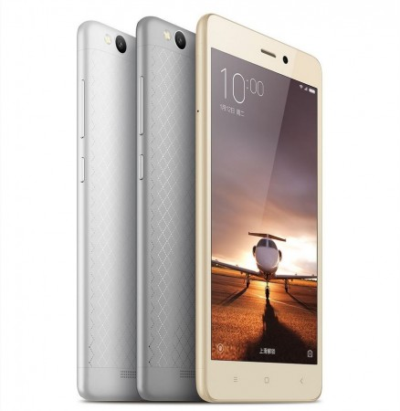 Metal-clad Xiaomi Redmi 3 with Snapdragon 616 Octa-core SoC