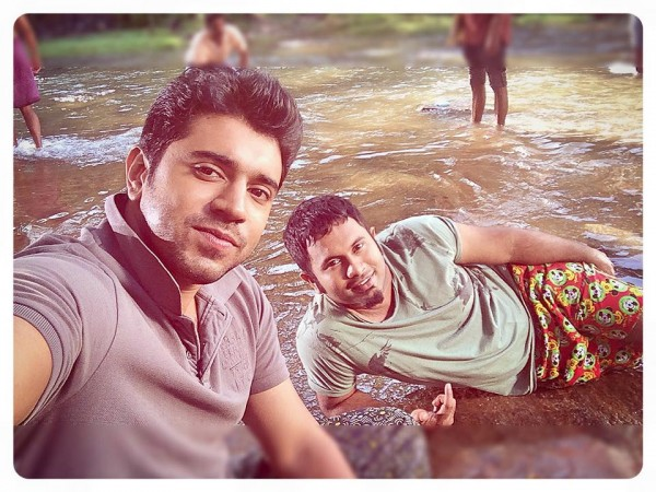 Nivin Pauly and Aju Varghese