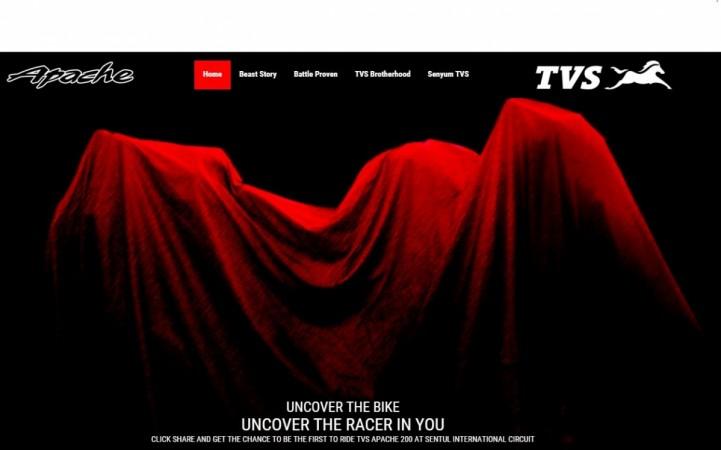 TVS Apache 200 teaser