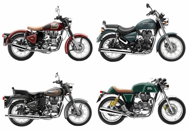 Royal Enfield updates motorcycles