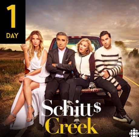Schitt's Creek Season 2 will premiere on Tuesday, 12 January