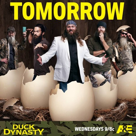 Duck Dynasty is premiering on 13 January