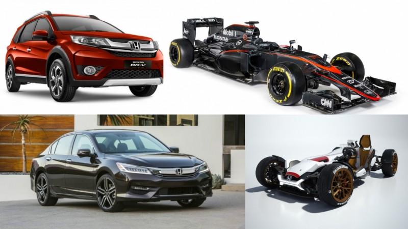 Honda unveils at Auto Expo 2016