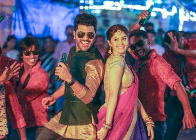 Sharwanand and Surabhi in Express Raja