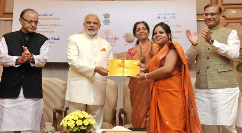 Gold Scheme launched by Modi sbg gold bond scheme modi rbi collection price tranche fifth fourth third second government physical gold