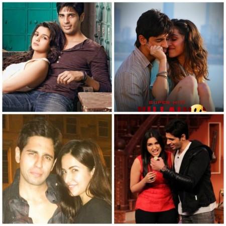 Alia, Shraddha, Parineeti or Katrina – who look best opposite Sidharth Malhotra