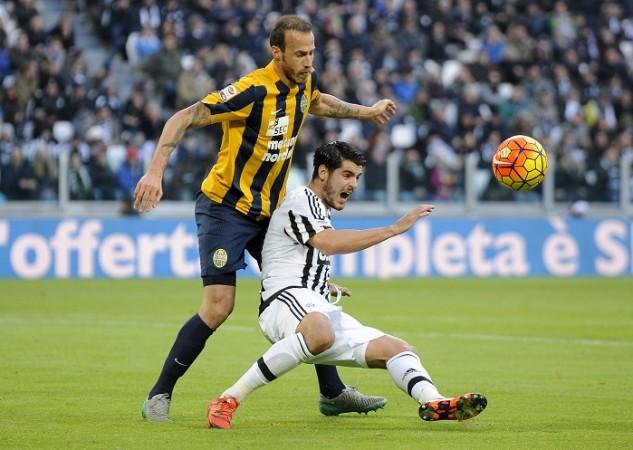 Alvaro Morata Juventus Vangelis Moras Helas Verona
