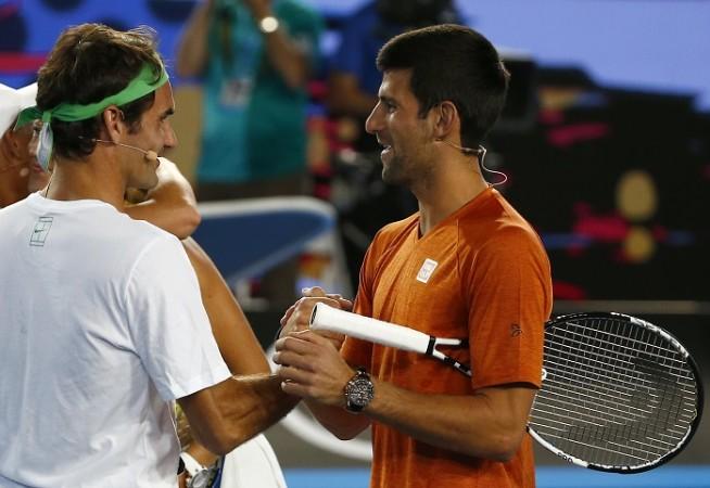 Roger Federer Novak Djokovic Australian Open 2016