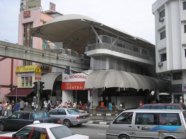 Kuala Lumpur train station