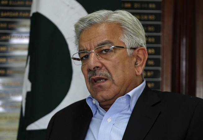 Pakistan Defence Minister Khawaja Asif