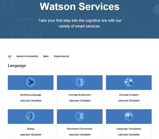 IBM Watson Ecosystem and Watson Developer Cloud