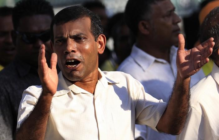 Maldives ex-president