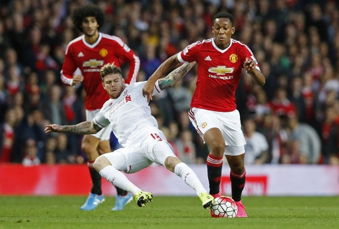 Anthony Martial Manchester United Moreno Liverpool