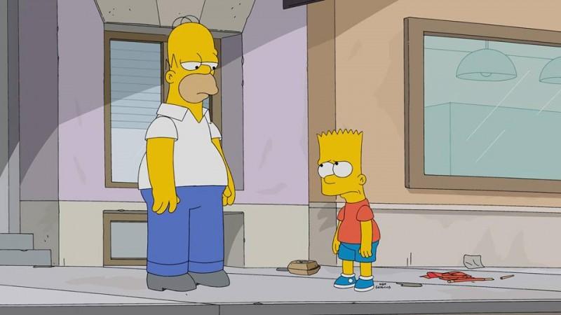 What happens when Bart breaks promise to Homer?