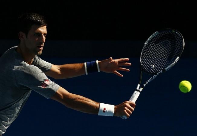 Novak Djokovic Australian Open 2016
