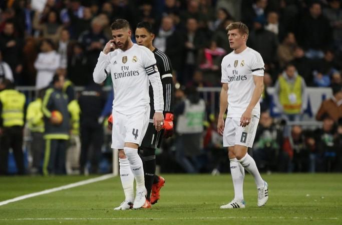 Sergio Ramos Keylor Navas Toni Kroos Real Madrid