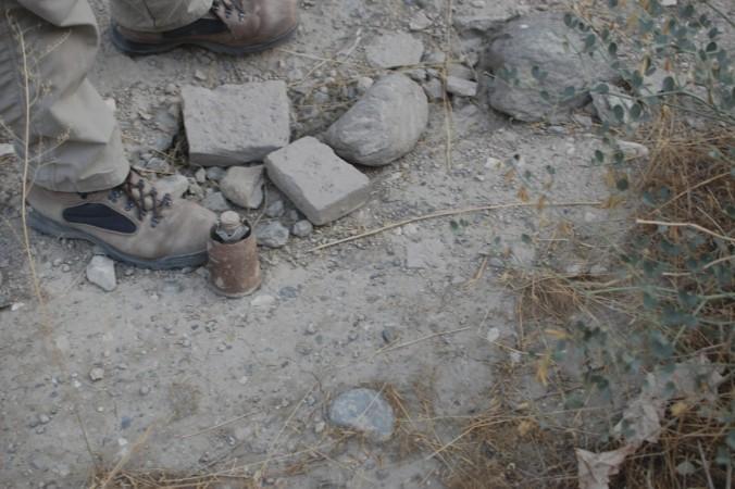 mortar shell