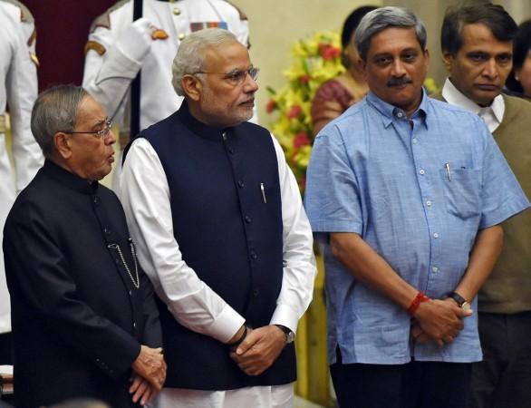 Narendra Modi, Manohar Parrikar