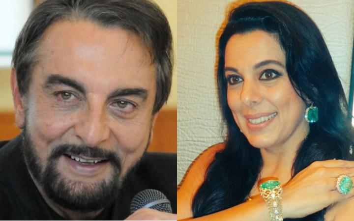 Kabir Bedi and Pooja Bedi