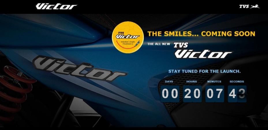 TVS Victor teaser