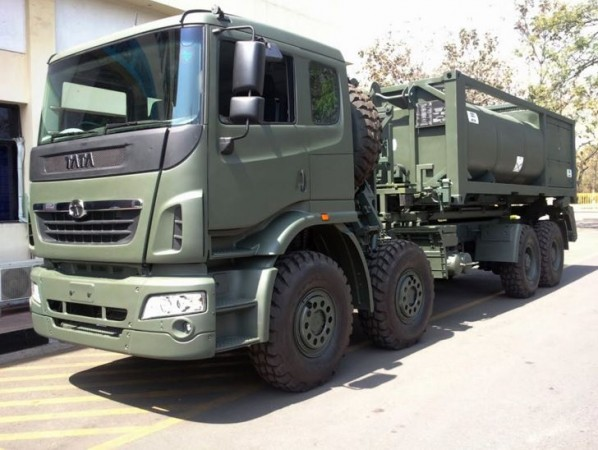 Tata Motors high mobility truck