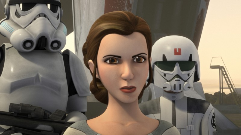 How Princess Leia will help Ezra and Kanan?