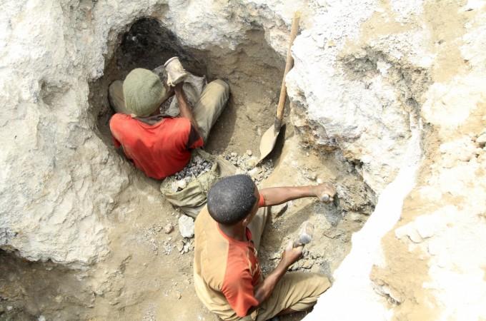 cobalt mine in congo
