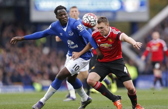 Romelu Lukaku Everton Phil Jones Manchester United