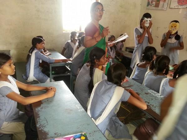 India classroom
