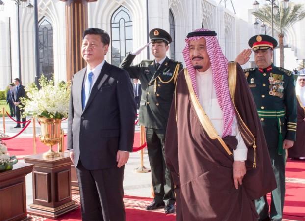 Chinese President in Saudi Arabia