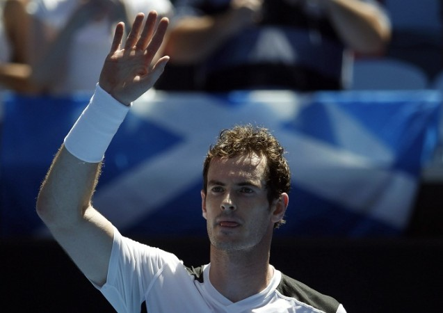 Andy Murray Australian Open 2016