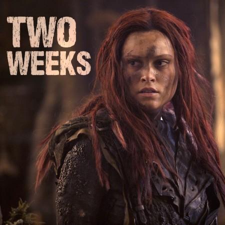 "Clarke from season 3 of ""The 100"""
