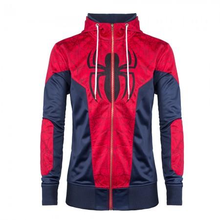 Upcoming Civil War Spider-Man hoodie by Merchoid