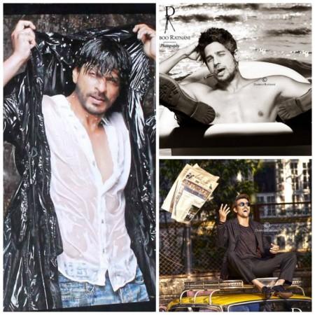 Shah Rukh Khan, Sidharth Malhotra, Hrithik Roshan's Dabboo Ratnani's Calendar posters
