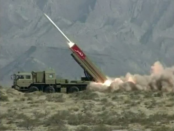 Pakistan nuclear warhead