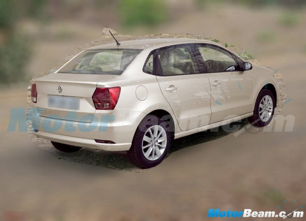 Volkswagen Ameo leaked Image