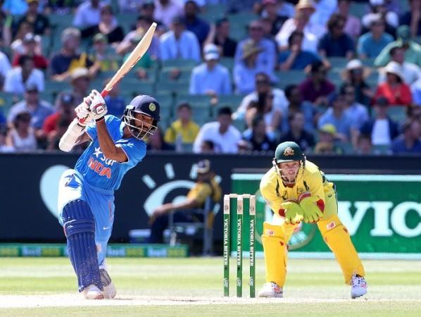 Shikhar Dhawan India Matthew Wade Australia