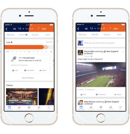 Facebook launches Sports Stadium: Live scores, commentary, game info at your fingertips