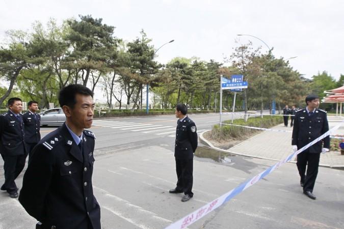 North Korea police