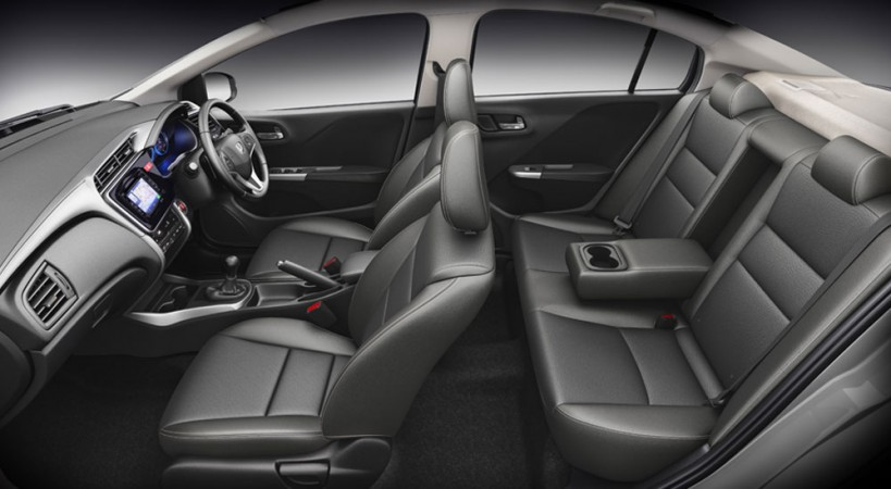 Honda City- all black interior