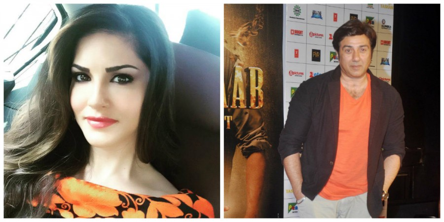 Sunny Leone and Sunny Deol