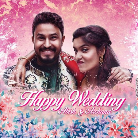 Archana Kavi marries Abish Mathew