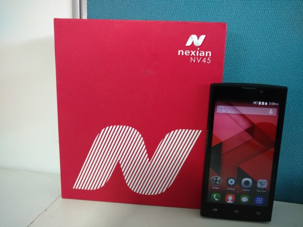 Spice Nexian NV-45 launched in India [First Impression]