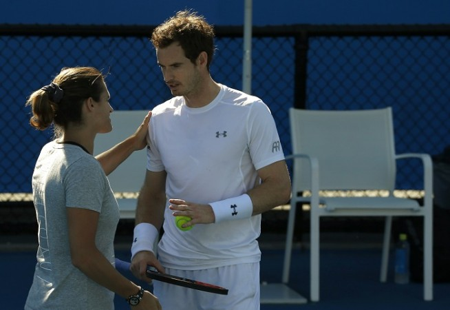 Amelie Mauresmo Andy Murray Australian Open 2016