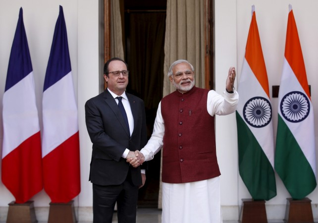 Hollande in India