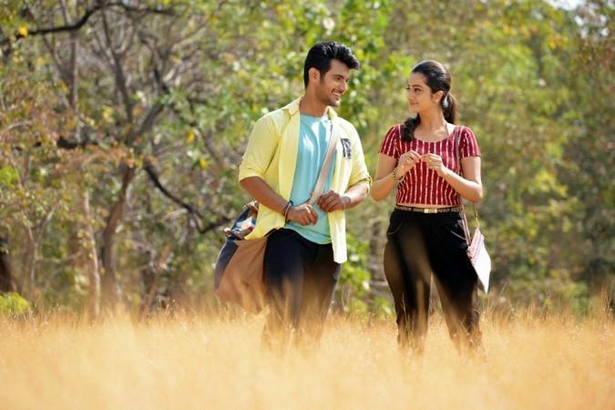 Namitha Pramod and Aadi in Telugu film Chuttalabbayi