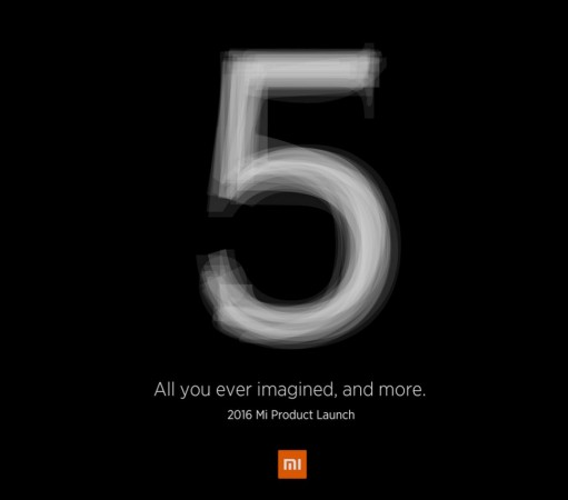 Xiaomi is sending media invites for the Mi5 launch event in China next week