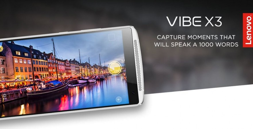 Lenovo Vibe X3 with 21MP camera launched in India