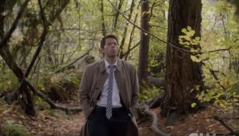 Castiel's body is now occupied by Lucifer